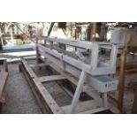 Conveyor - Gravity Feed Conveyor to Slicer, 13' Length