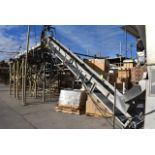 """Conveyor - 20' x 18"""" Wide Motorized Incline Belt Conveyor"""