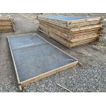 "Drying Racks for Product, 70"" Wide x 15' Long, Qty 10, Rigging Fee: $50"