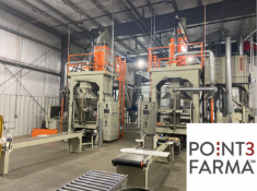 PLANT CLOSED - Point3Farma - Hemp Production, Processing, and Packaging Equipment