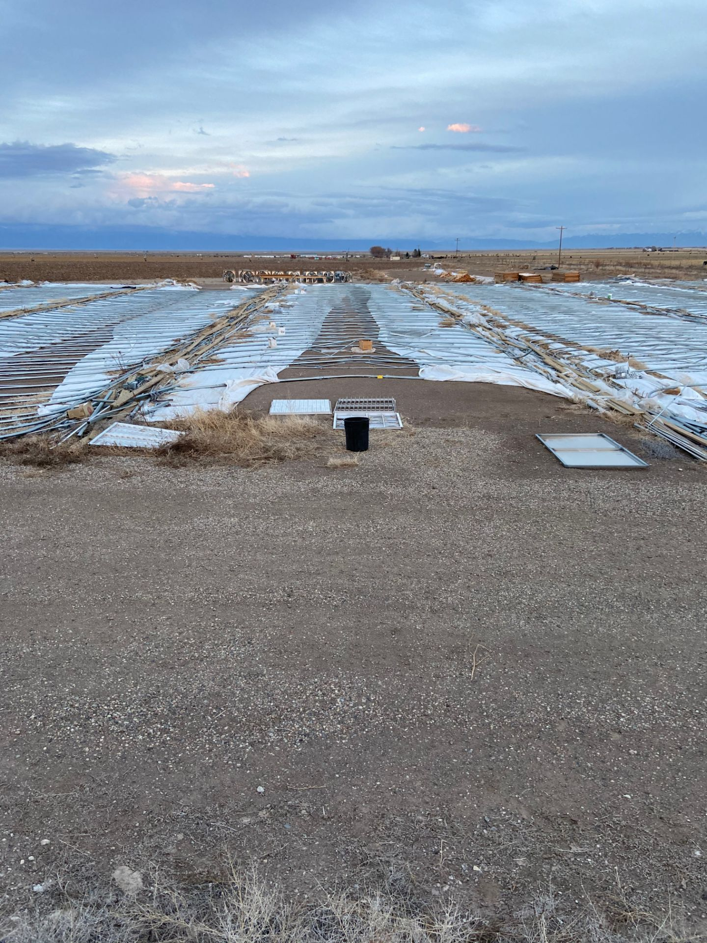 Scenic Acres Greenhouse Mfg Greenhouse w/ Four Exhaust Fans and Two Heaters, 34' x 200' gothic hoop - Image 2 of 10