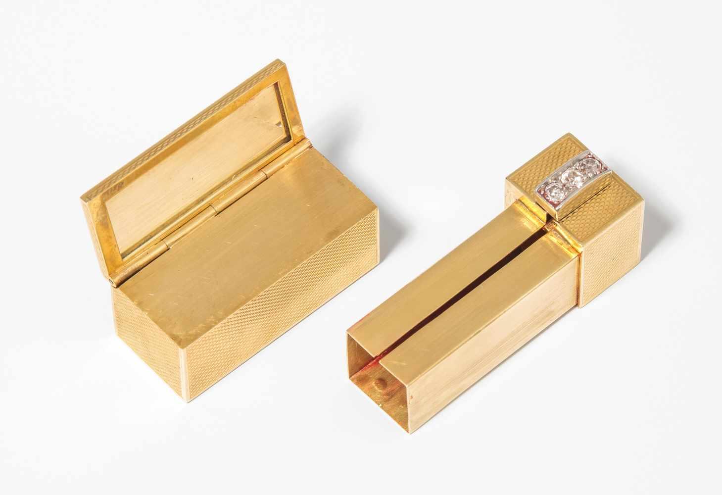 Lot 214 - Lippenstifthalter