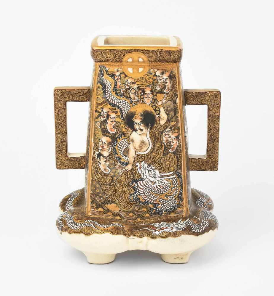 Lot 1012 - Satsuma-Vase