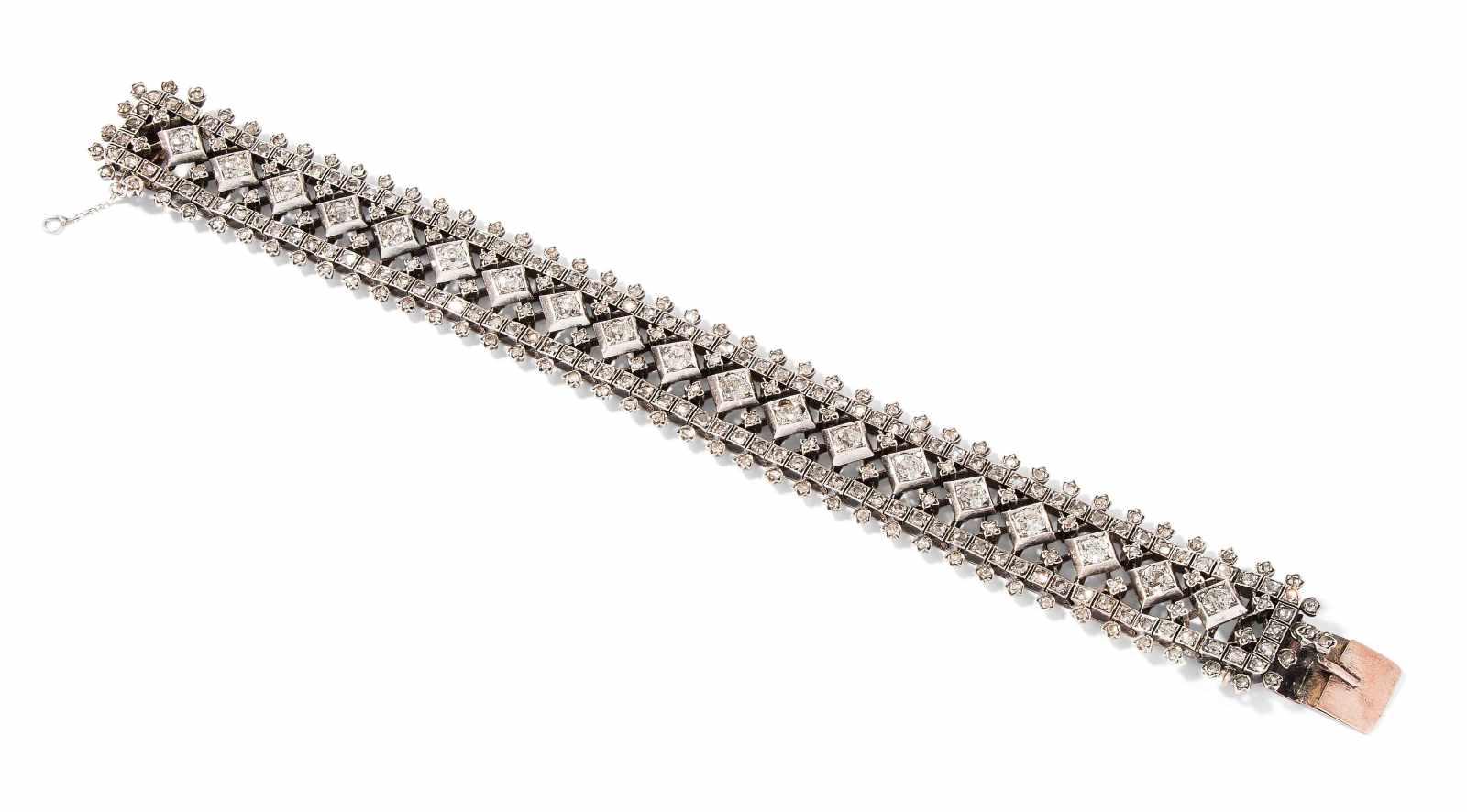 Lot 2013 - Diamant-Bracelet