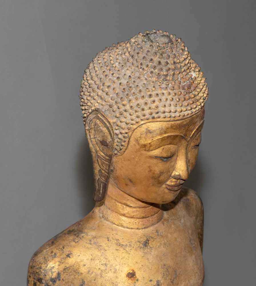Lot 1036 - Grosse Buddhafigur