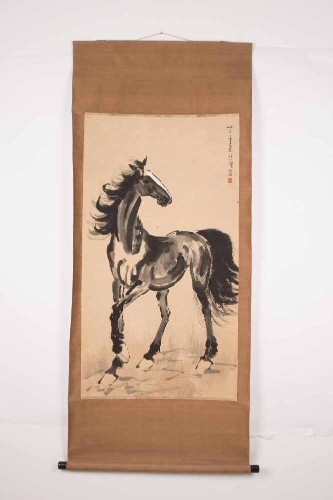 Lot 1038 - Xu Beihong (1895–1953), zugeschrieben<b