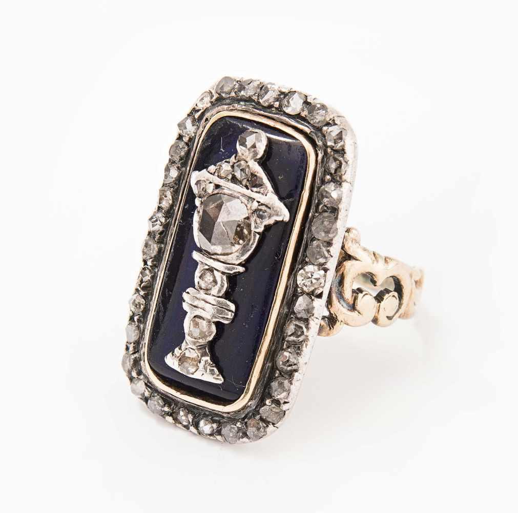Lot 2002 - *Diamant-Ring