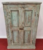 A good painted Timber Cabinet.81w x 40d x 125h cms.