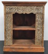 A Timber Corner Cabinet.64w x 76.5h cms.