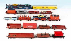 17 MÄRKLIN Güterwagen