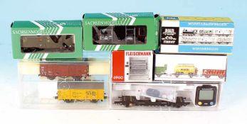 Konvolut Güter- und Personenwagen