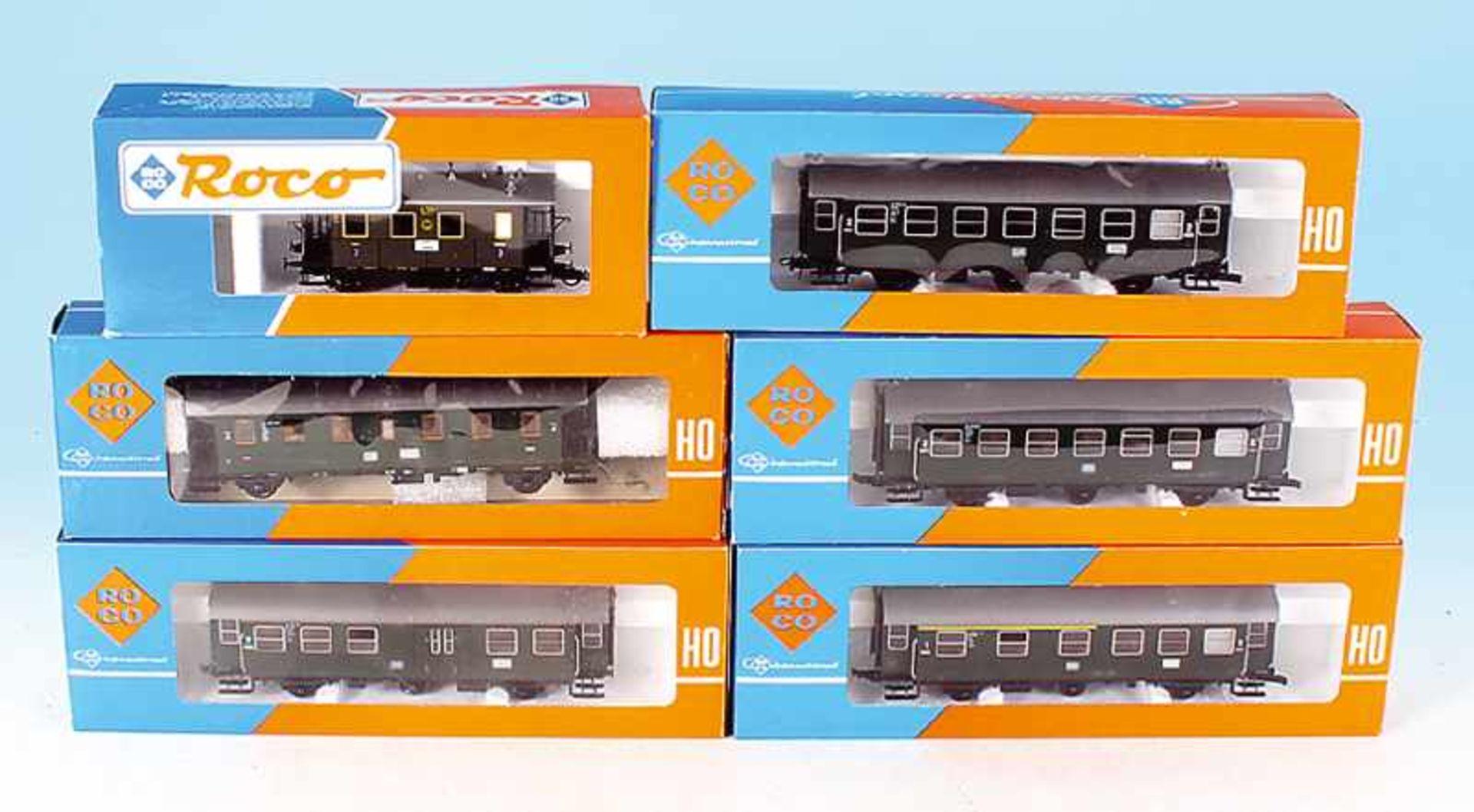 Los 49 - 6 ROCO Personenwagen