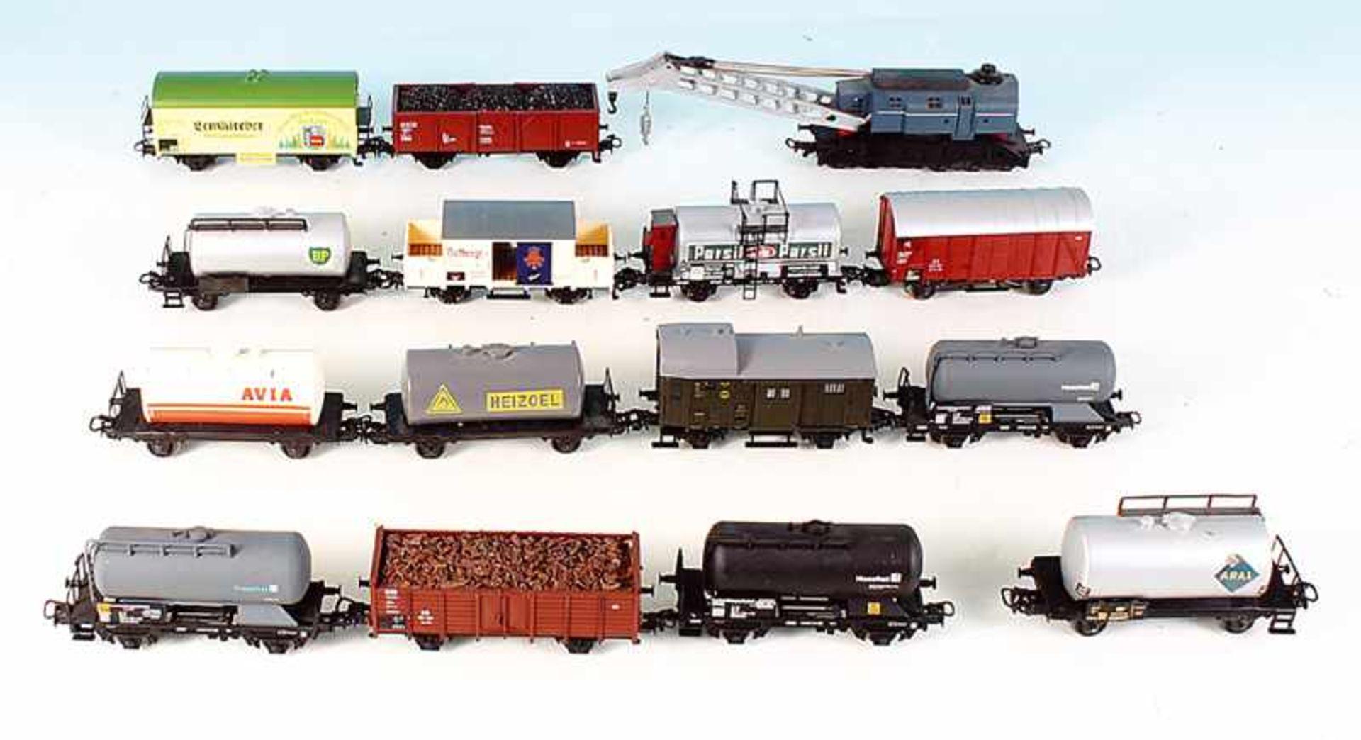 Los 12 - 15 MÄRKLIN Güterwagen
