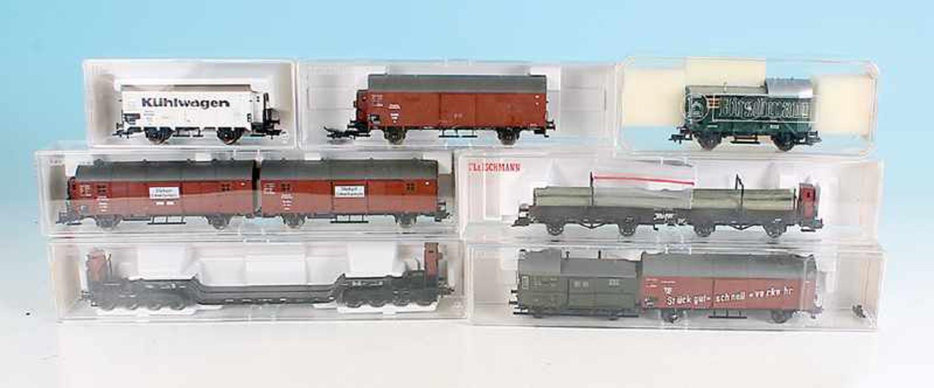 7 FLEISCHMANN Güterwagen