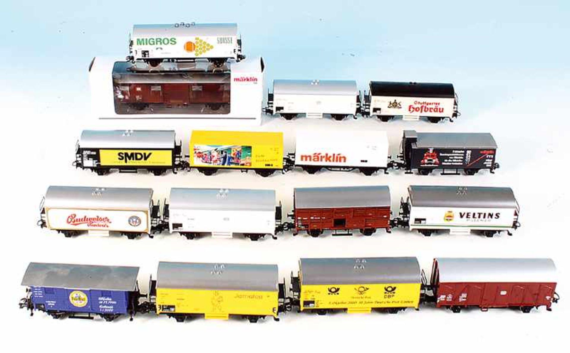 Los 31 - 15 MÄRKLIN Güterwagen