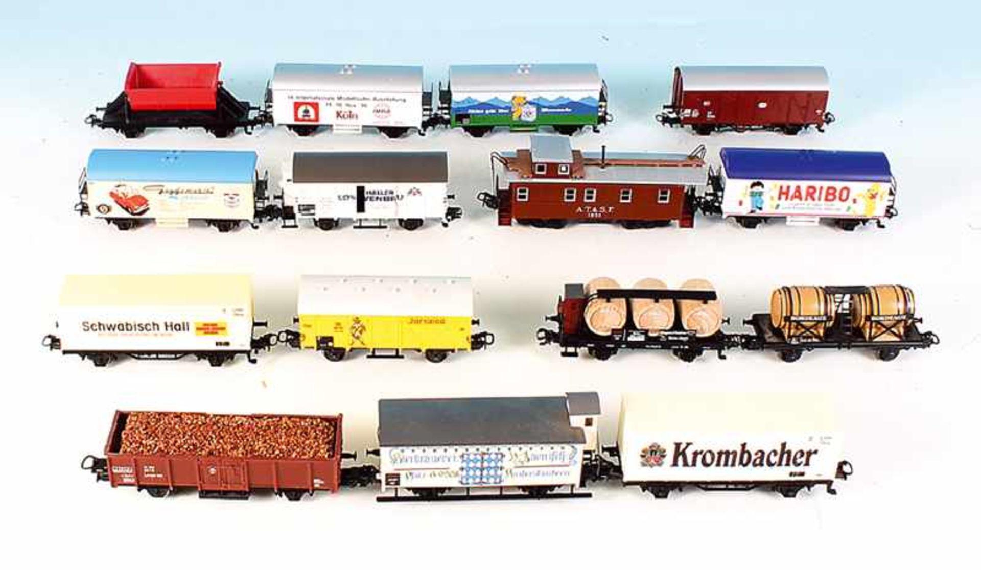 Los 13 - 15 MÄRKLIN Güterwagen