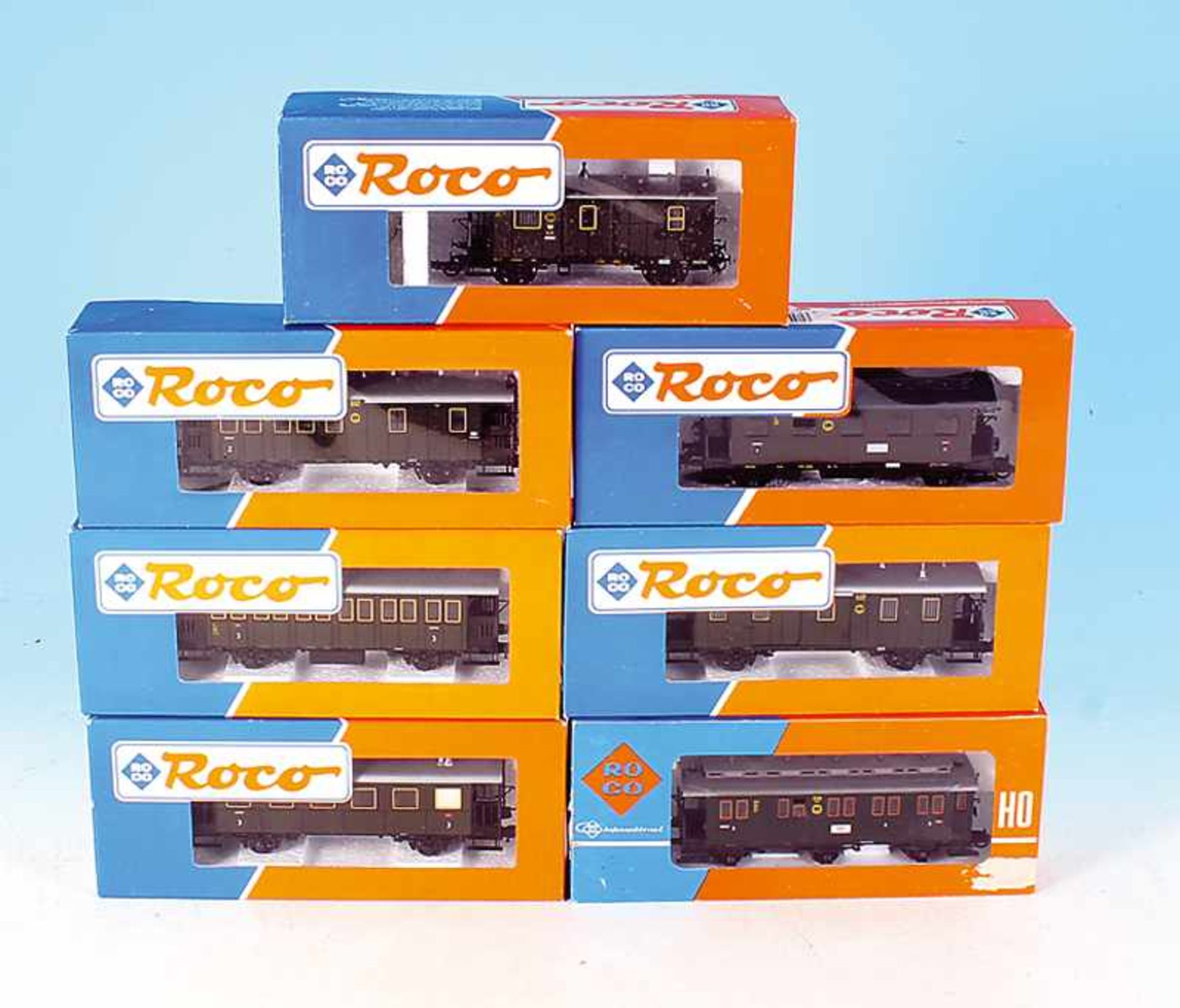 Los 47 - 7 ROCO Personenwagen