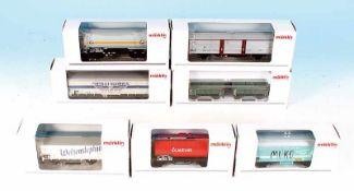 7 MÄRKLIN Güterwagen