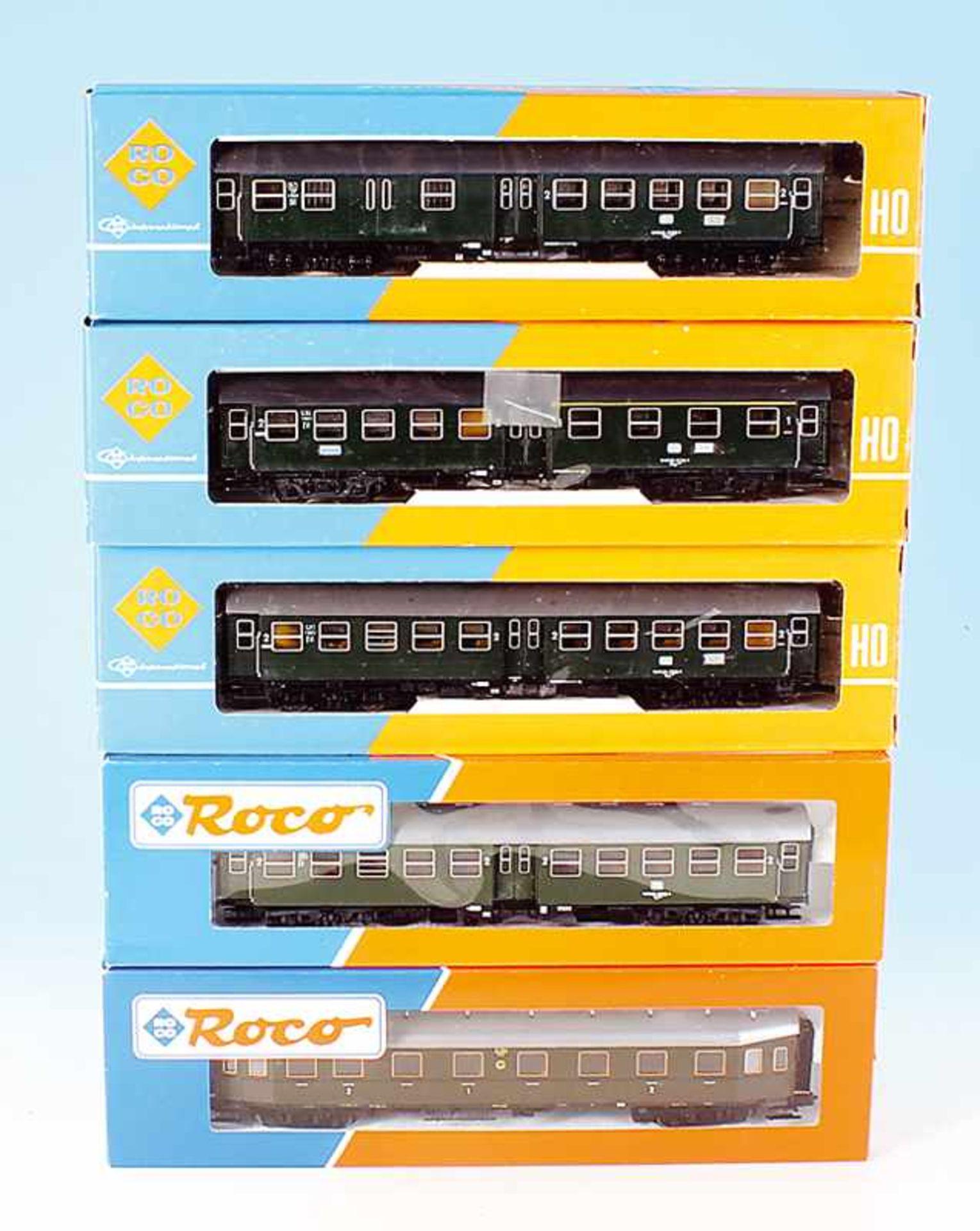 Los 35 - 5 ROCO Personenwagen
