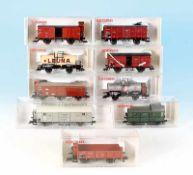 9 FLEISCHMANN Güterwagen
