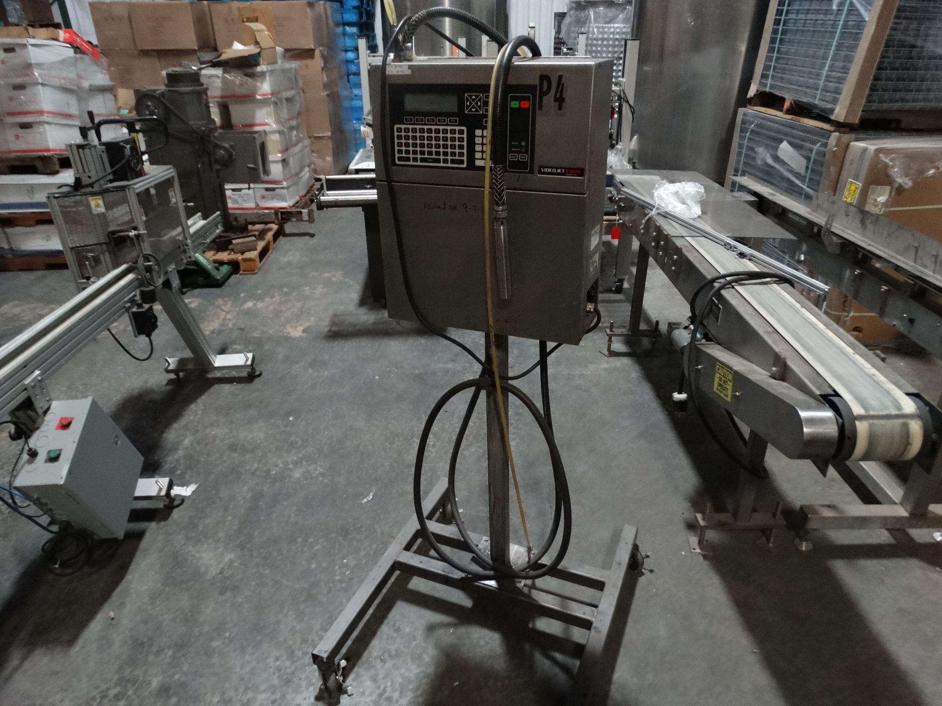 Lot 85 - Videojet Excel 170i Ink Jet Marking Machine Coder H6657