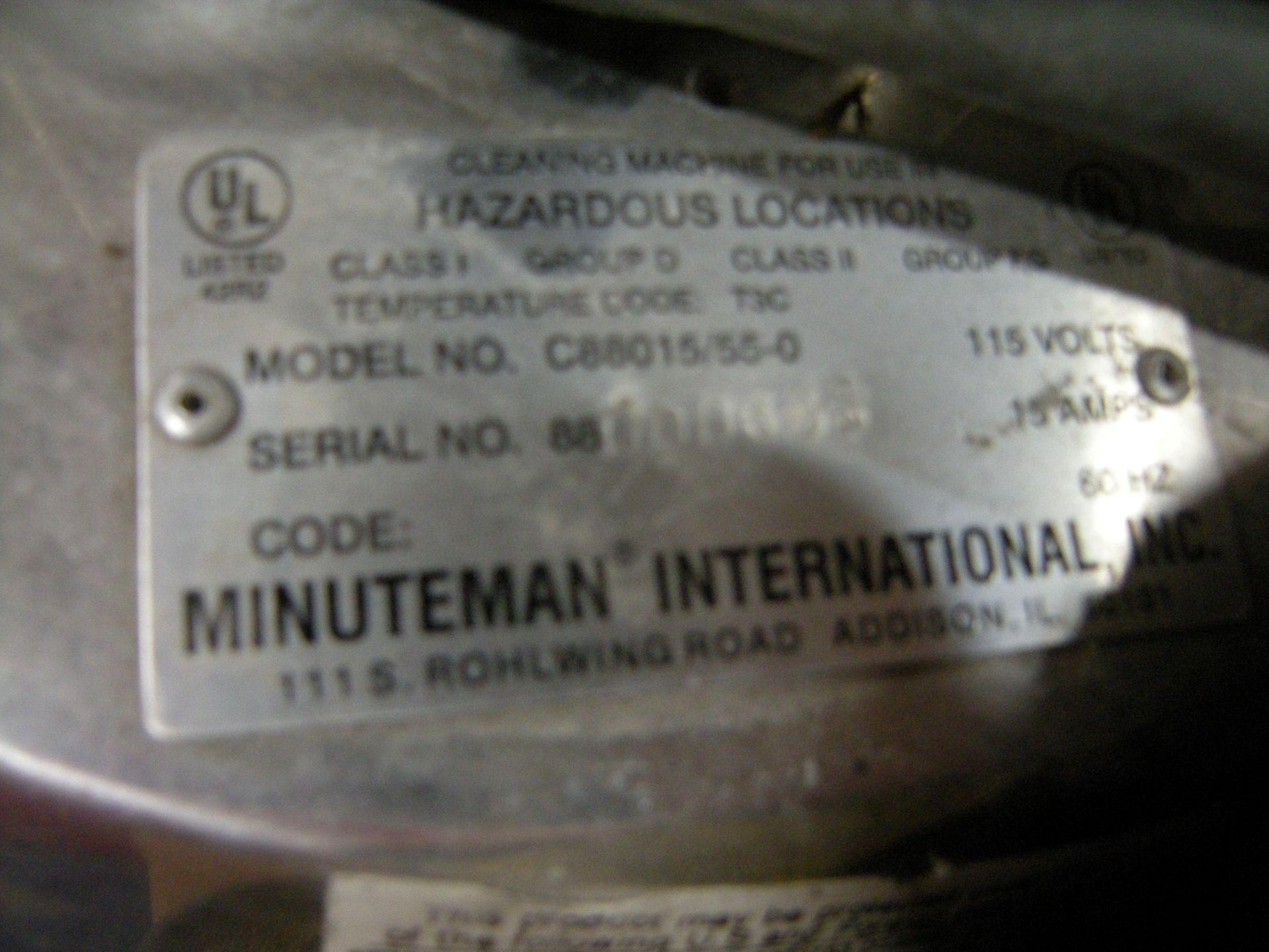 Lot 350 - Minuteman International Industrial Vaccum IS 14560 SKU: 1232