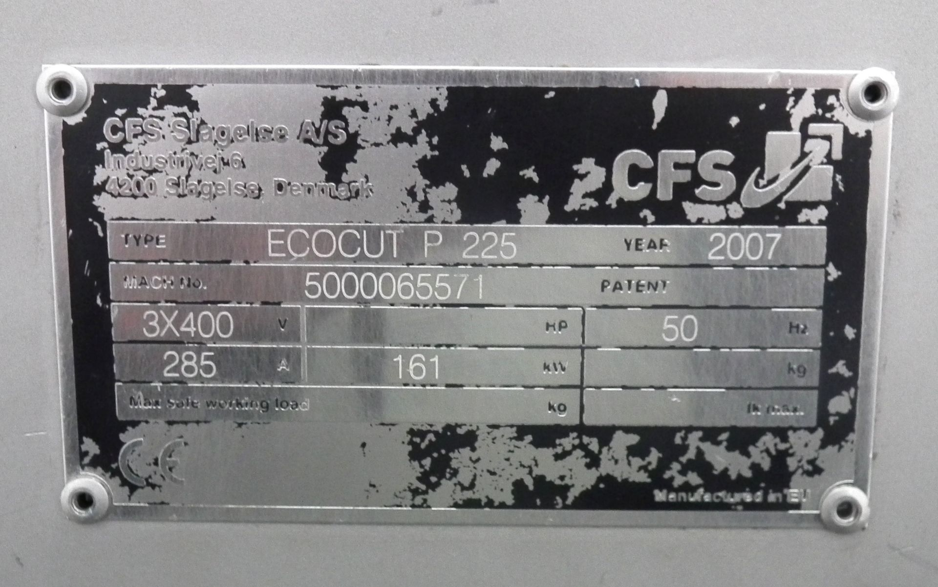 Lot 29 - CFS EcoCut P225 Emulsifier B3756