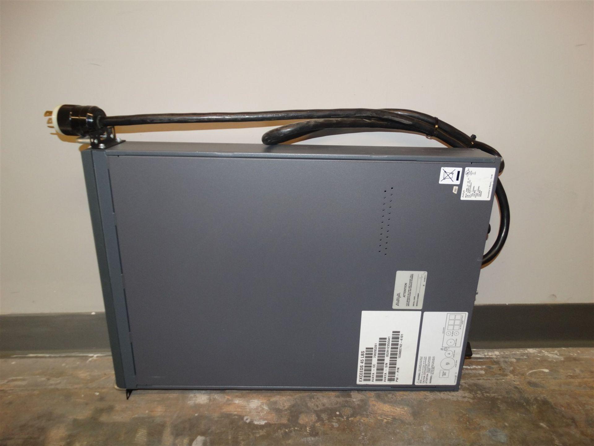Lot 377 - Avaya Ups Uninterruptible Power Supply PDM2-LV-US-P1 P/N 103002742-4101 120V 24A SKU: 20660