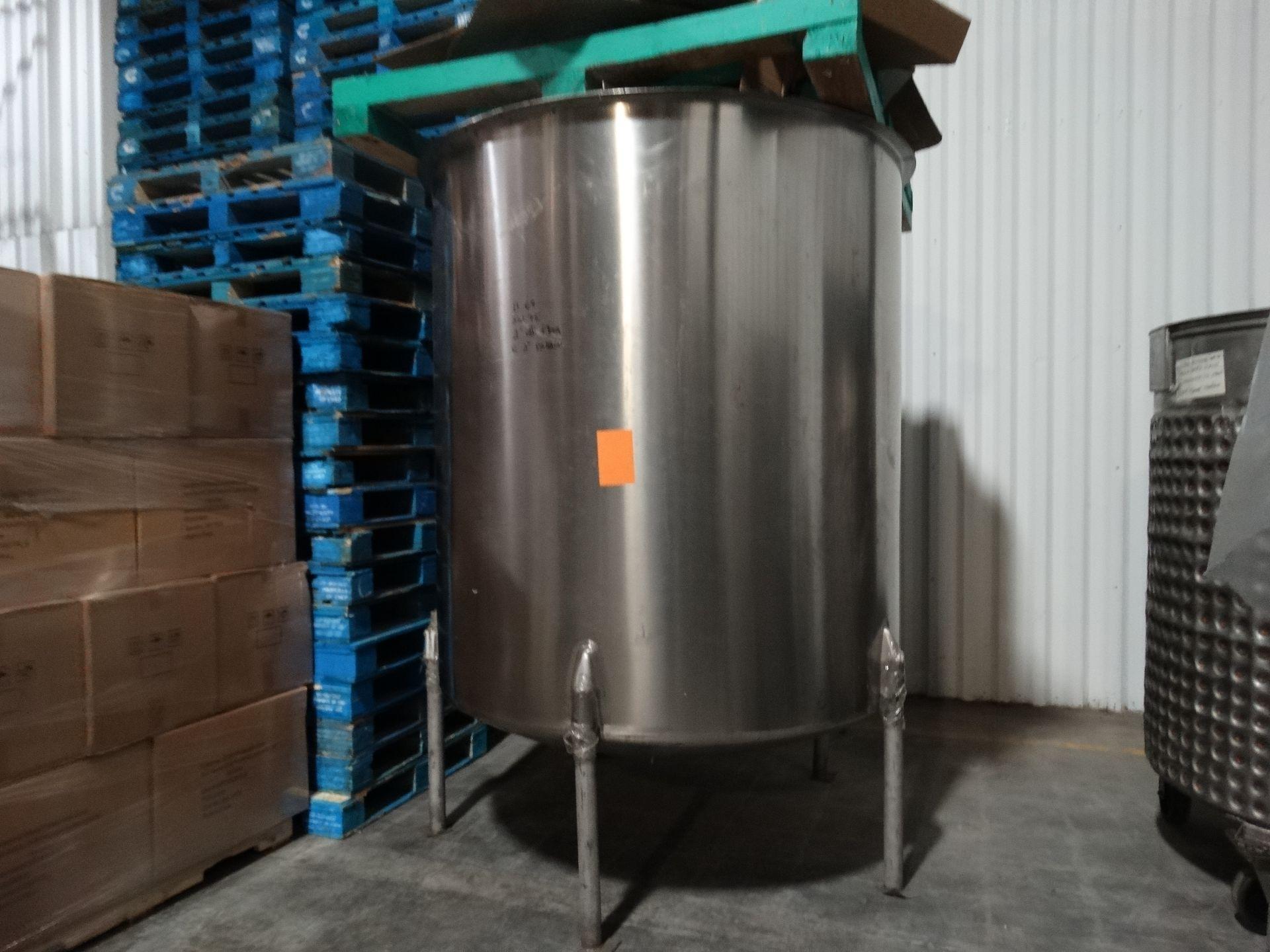 Lot 75 - Perma San 1000 Gallon Stainless Single Wall Tank H6647