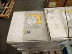 "Lot of 20 Rexnord FTM1055XLG K330 Plastic Conveyor Belt 3"" Wide"