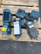 Lot of 4 Assorted Electric Motors