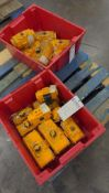 Lot of 18 Various EL-O-Matic Pneumatic Actuators