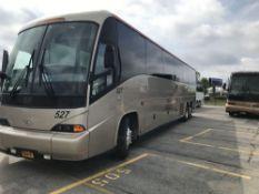 2006 MCI MODEL J4500, 56 SEAT PASSENGER COACH BUS