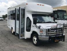 2013 FORD MODEL E450, 14 SEAT PASSENGER COACH BUS