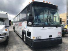 2000 MCI MODEL 102 DL3, 55 SEAT PASSENGER COACH BUS