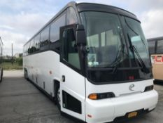 2000 MCI MODEL 102 EL3, 56 SEAT PASSENGER COACH BUS