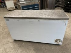 Blizzard Chest Freezer with Stainless Top