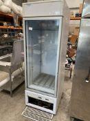 ISA Upright See Through Freezer