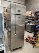Foster Stainless Steel Upright Freezer