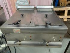 Lincat Double Tank Deep Fat Fryer