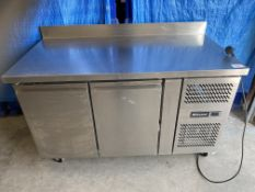 Blizzard 2 Door Refrigerated Prep Counter