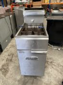 Imperial Double Basket Gas Fryer