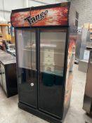Large Upright Double Door Tango Fridge