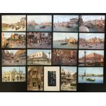 SELECTION OF ITALIAN VENICE RELATED POSTCARDS