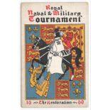 1920 ROYAL NAVAL & MILITARY TOURNAMENT POSTCARD