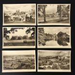 CASTLES OF ENGLAND SERIES COMPLETE SET OF SIX POSTCARDS BY THE TIMES