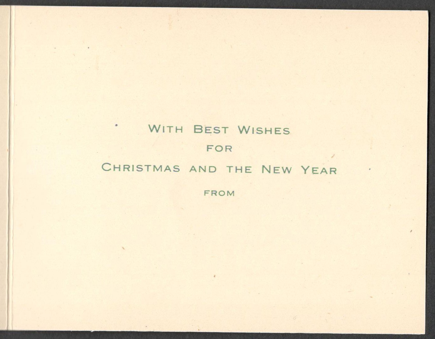 Lot 4 - SMALL UNUSED GREETING CARD FOR WOMEN'S LAND ARMY