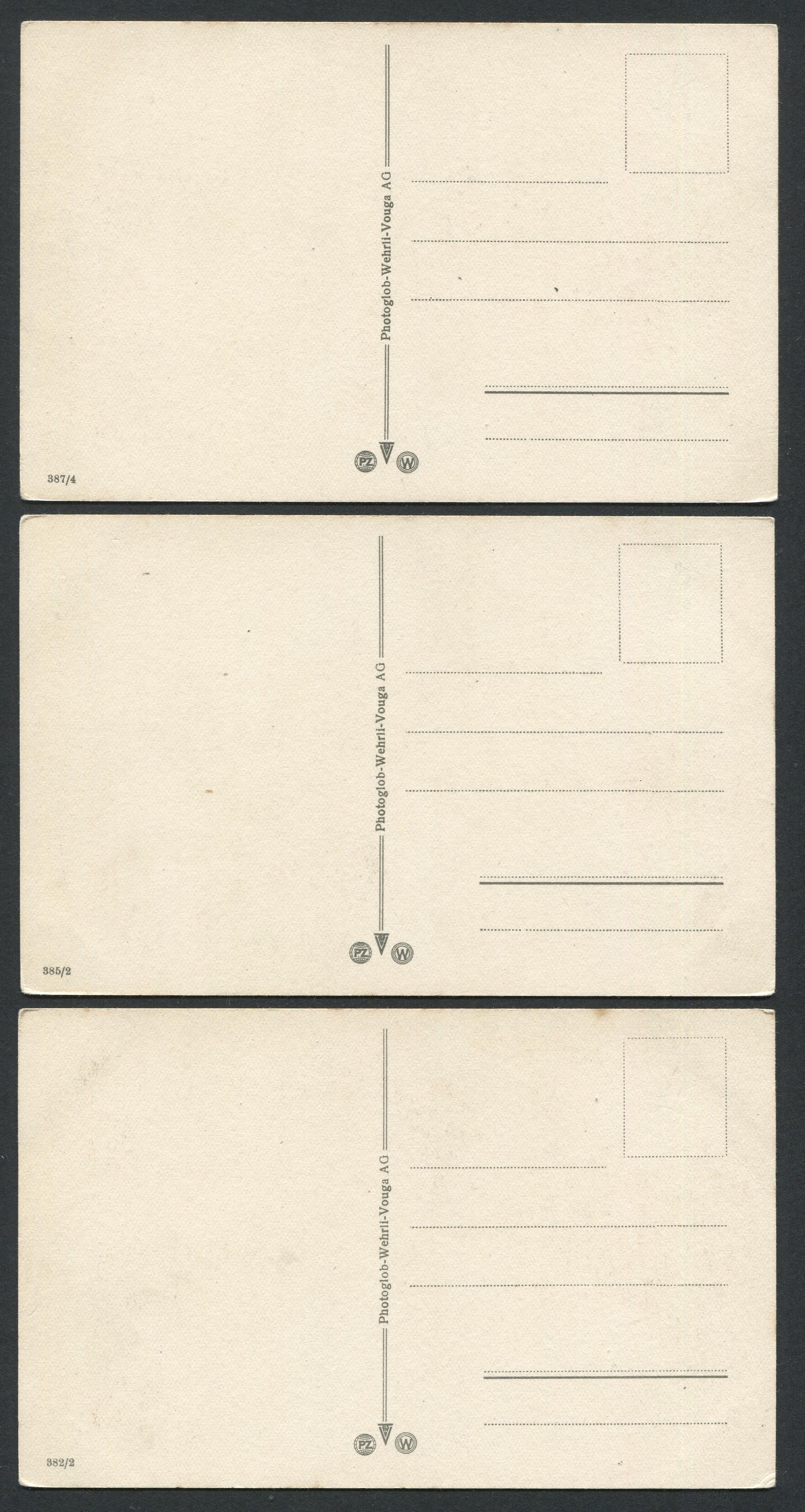 Lot 39 - THREE VINTAGE CARTOON POSTCARD SHOWING GERMAN SOLDIERS