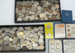 COLLECTION OF VICTORIAN & LATER COINS INCLUDING SOME COMMEMORATIVE
