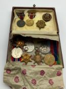SMALL GROUP OF VARIOUS MILITARY MEDALS